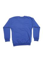 Precioux - Cobalt BUCKS sweat top Cobalt