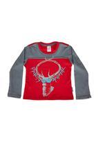 Precioux Bucks - Boys T-Shirt With Slogan Multi-Colour