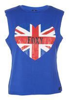 Foxy - Sloppy Vest Cobalt