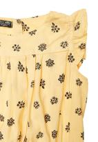 TORO CLOTHING - Printed Dress Yellow