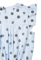 TORO CLOTHING - Printed Dress Pale Blue