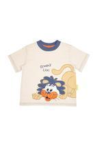 Hooligans - Sneaky Lion T-shirt Multi-colour