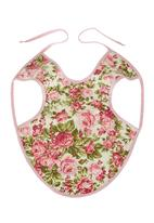 Home Grown Africa - Girls Bib with Floral Print Pale Pink