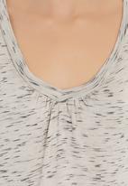 Five Legends - V-neck T-shirt Grey