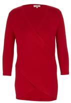 edit - Drape T-shirt Red