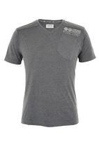 Crosshatch - Lighthouse T-shirt Dark Grey
