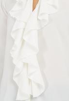 edit - Frill Blouse White