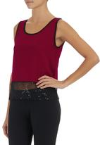 STYLE REPUBLIC - Glamour Cami Wine  Dark Red