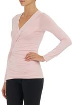 edit - Cross-over Top Pale Pink Pale Pink