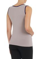 Astrid Ray - Press Stud Vest Neutral