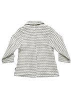 Phoebe & Floyd - Button-through jacket Black/White