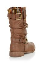 RAGE - Boots with buckle detail Brown