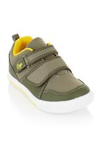 RAGE - Takkies with strap detail Green