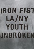IRON FIST SA - Youth unbroken tee Grey