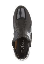Foot Focus - Patent shoes Black