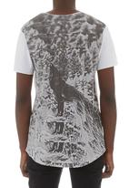 St Goliath - Cry wolf tee White