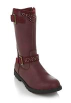 RAGE - Girls boots Red