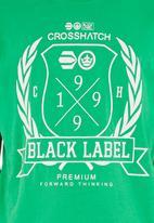 Crosshatch - Snowglow T-shirt Mid Green