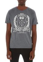 Crosshatch - Snowglow T-shirt Dark Grey
