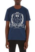 Crosshatch - Snowglow T-shirt Navy