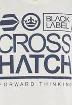 Crosshatch - Large go T-shirt Milk