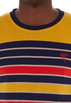 Fire Fox - Long-sleeve stripe tee Yellow