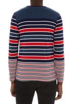 Fire Fox - Long-sleeve stripe tee Multi-colour