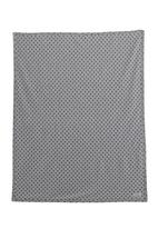 Sticky Fudge - Receiving blanket with spot-print Grey
