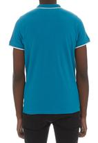 Crosshatch - Jacklass polo Mid Blue