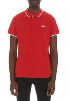 Crosshatch - Jacklass polo Red