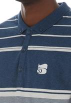 Crosshatch - Stripe golfer Navy