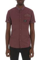 Crosshatch - Clackers shirt Red