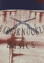 S.P.C.C. - Bare Knuckle Basic Tee Navy