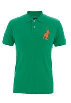 POLO - Pony custom-fit golfer Green