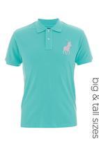 POLO - Pony custom-fit golfer Turquoise