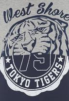 Tokyo Tigers - Mambi tee Mid Blue