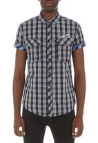 Smith & Jones - Isleworth shirt Dark Grey
