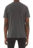 Russell Athletic - Arch logo crew neck tee Grey