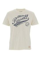 Russell Athletic - Printed crew-neck tee Milk