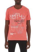 Smith & Jones - Walham T-shirt Red