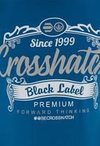 Crosshatch - Yaya tee Mid Blue