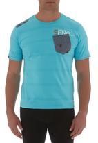 Smith & Jones - Walworth T-shirt  Turquoise