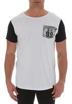 St Goliath - Triple tee Black/White