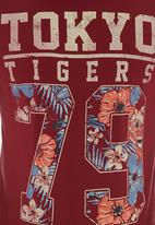 Tokyo Tigers - Manua T-shirt Red