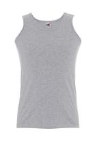 Fruit of the Loom - Valueweight athletic vest Grey