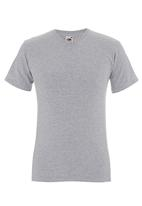Fruit of the Loom - Valueweight v-neck tee Grey