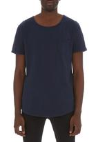 S.P.C.C. - Cut and sew tee Navy