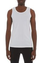 Fruit of the Loom - Valueweight athletic vest White