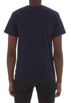 Fruit of the Loom - Valueweight v-neck tee Navy