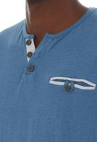 Pride & Soul - Brycen T-shirt Mid blue